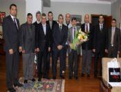 Başkan Yaralı'dan Rektör Pakdemirli'ye Tebrik Ziyareti