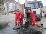 Gümüşhane'de 3,5 Kilometrelik Kanalizasyon Hattından 10 Kamyon Katı Atık Çıktı