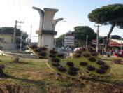 Ödemiş'in Caddeleri Ve Meydanları Süs Bitkinlerinin Vitrini Olacak