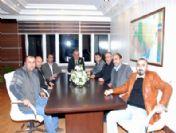 Suşehri Myo Dernek Yönetimi Başkan Sel'i Ziyaret Etti