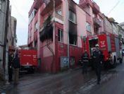 Televizyondan Çıkan Yangında Bir Ev Kül Oldu