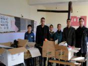 Türkav Öğrencilere Kırtasiye Ve Giyecek Yardımı Yaptı