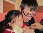 Yedisu'da 4'lü Aşı Uygulaması Tamalmandı