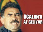 Af kapsamına Abdullah Öcalan da girdi
