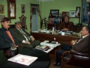 Chp Milletvekili Aday Adayı Hüseyin Anıl'a Yörük Obaları'ndan Ziyaret