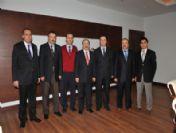 Eğitim-bir-sen'den Başkan Gümrükçüoğlu'na Ziyaret
