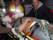 Hasta Taşıyan Ambulans Kaza Yaptı: 1 Ölü, 4 Yaralı