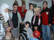 Kapaklar Engelli Görkem'i Hayata Bağladı