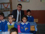 Kaymakam Şahiner Köy Okullarını Ziyaret Etti
