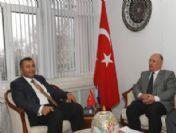 Kütahya Belediye Başkanı İça'dan Vali Çiftçi'ye 'Hayırlı Olsun' Ziyareti