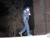 Polisten Kaçan Şehir Magandaları Otomobili Bırakıp Kaçtı