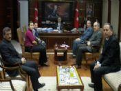 Türk Sağlık-sen Giresun Şubesi'nden Vali Yaman'a Ziyaret