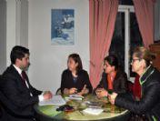 Yayla, Trabzon'da Sivil Toplum Kuruluşlarını Ziyaret Ediyor
