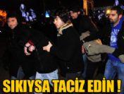 Yılbaşı tacizcilerine 7 yıl hapis