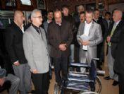 Çayeli'nde Engellilere Tekerlekli Araba
