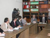 Eğitim Ortamlarında Şiddetin Önlenmesi Konulu Toplantı Yapıldı