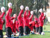 Eintracht Frankfurt Antalya'da Kampta