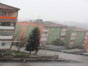 Karabük'e Kar Yağdı