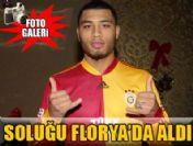 Kazım Kazım Galatasaray'da ilk antremana çıktı