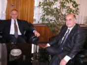 Polis Myo Müdürü İbrahim Azcan'dan Mtso'ya Ziyaret