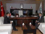Vali Ayvaz'dan İpekyolu Kalkınma Ajansı'na Ziyaret