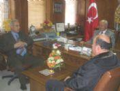 Yozgat Milli Eğitim Müdürü Gamsız, Sarıkaya Belediye Başkanı Erbir'i Ziyaret Etti