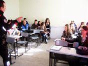 Burhaniye'de Polisten Güvenli Okul Projesi