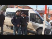 Erciş'te Banka Şubesine Ses Bombası Atan 3 Zanlı Yakalandı