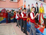 Görele'de Okul Duvarları Rengarenk