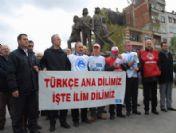 Türkiye Kamu-sen Giresun Şubesi'nden İki Dil Tepkisi