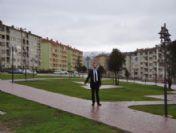 Zile'de Yazıcıoğlu Parkı