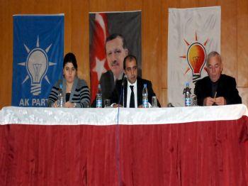 SINAN GÜNER - Ak Parti`li Gençler Genel Kurula Gitti
