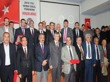 BURDUR ŞEKER FABRIKASı - Burdur`da Vergi Rekortmenleri Ödüllendirildi