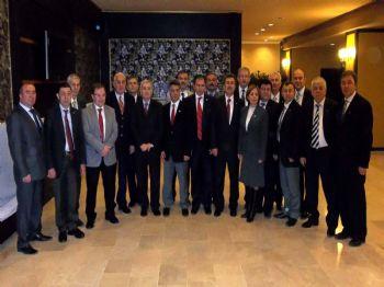 KAYHAN KAVAS - Utso Ankara'daki Lobi Faaliyetlerini Arttıracak