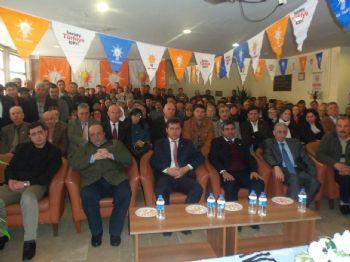 ŞABAN ÖZER - Ak Parti Balya İlçe Kongresi Yapıldı