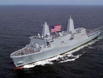 ARAP DENIZI - ABD'nin 2 savaş gemisi Hürmüz Boğazı'nda