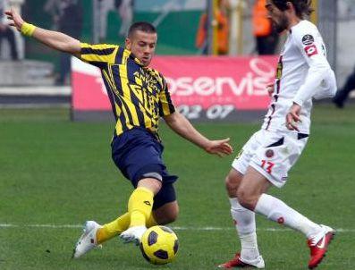 MILE JEDINAK - Ankaragücü Gençlerbirliği maçı özeti ve golleri