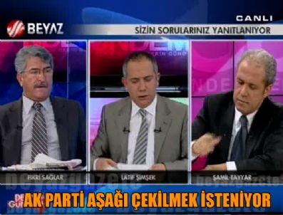 ŞAMİL TAYYAR - 'Ak Parti köşeye sıkıştırılmak isteniyor'