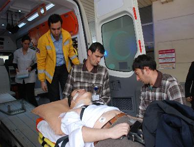 Kaza Yapan Cumhuriyet Savcısı Yaralandı