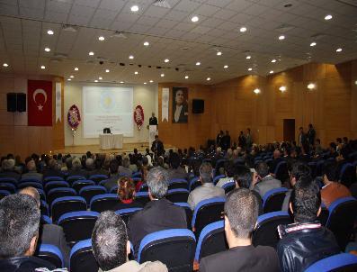 ABDÜLAZIZ AYDıN - Bingöl Üniversitesi'nden 'Aleviliğin Doğuşu' Konferansı