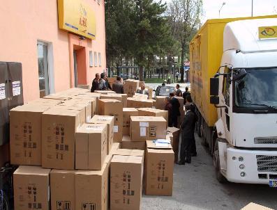 Şeffaf Seçim Sandıkları Erzincan'a Geldi