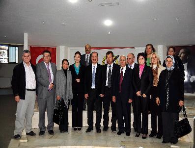ARIF ABALı - Ak Parti'den Mgc'ye Ziyaret