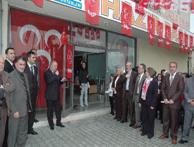 KANAL İSTANBUL - Mhp Yenikent'te Seçim Bürosu Açtı