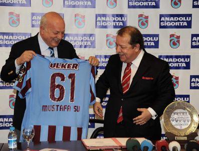 MUSTAFA SU - Trabzonspor Trafik ve Trabzonspor Kasko'nun Sszleşmesi imzalandı