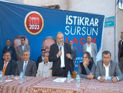 Salim Uslu, Laçin'deki Atm Sorununu Çözdü