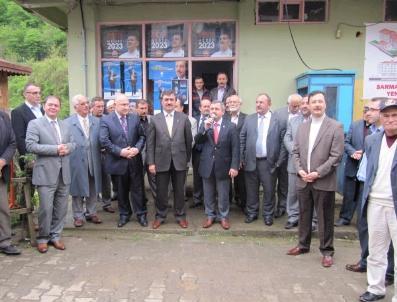 Ak Parti'li Hamarat Esna Ziyaretlerinde