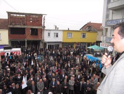Ak Parti'Li Mustafa Hamarat'ın Seçim Gezileri