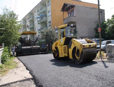 HOVARDA - Adapazarı Belediyesi Asfalt Çalışmalarını Hızla Sürdürüyor