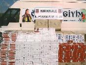Kırıkkale'de 57 Bin 802 Paket Kaçak Sigara Ele Geçirildi