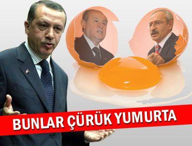 KANAL İSTANBUL - Bunlar çürük yumurta